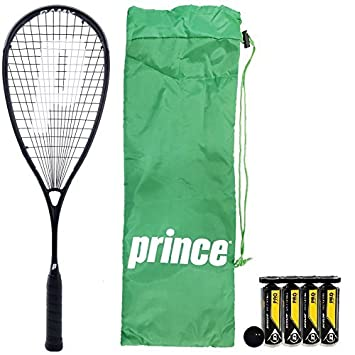 Prince Pro Warrior TeXtreme X 600 Ramy Ashour Raqueta De Squash plus Dunlop Pro Pelotas De Squash - 3 x Pro Squash Balls: Amazon.es: Deportes y aire libre