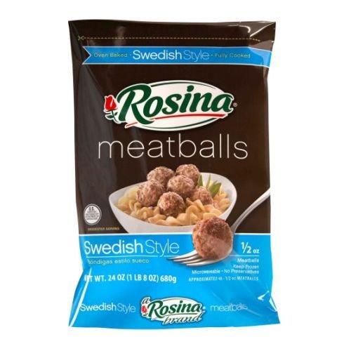 Rosina Swedish Meatball, 0.5 Ounce -- 8 per case. (Best Frozen Swedish Meatballs)