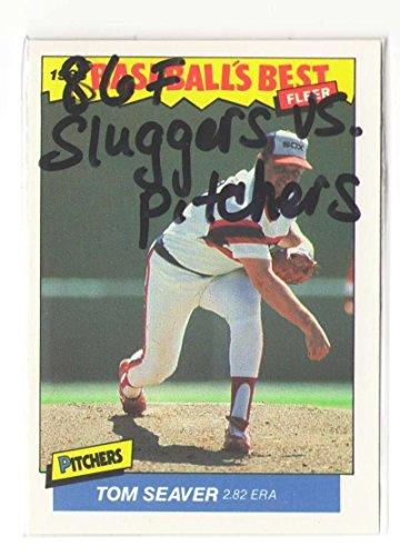 (1986 Fleer Sluggers vs Pitchers CHICAGO WHITE SOX Team Set)
