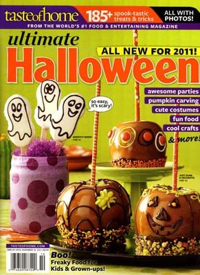 Taste of Home Ultimate Halloween- All New for 2011!!! ()