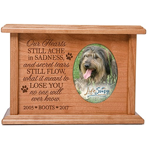 LifeSong Milestones Cremation Urns for Pets SMALL Memorial K
