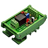 ELECTRONICS-SALON DIN Rail Mount Voltage Comparator Relay Module, DC12V, SPDT 10A Relay.