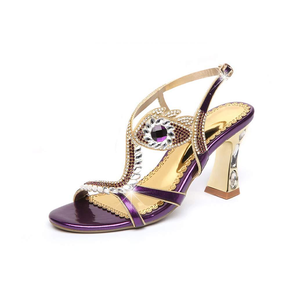 9beab1eab607d Women's High Heels 2019 New Microfiber Fashion Ladies Party Sandals ...