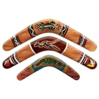 Outback Rock Weekend Decrative Paper Boomerangs 3pk