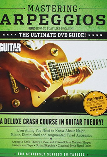 Guitar World -- Mastering Arpeggios, Vol 1: The Ultimate DVD Guide! A Deluxe Crash Course in Guitar Theory! (DVD) ()