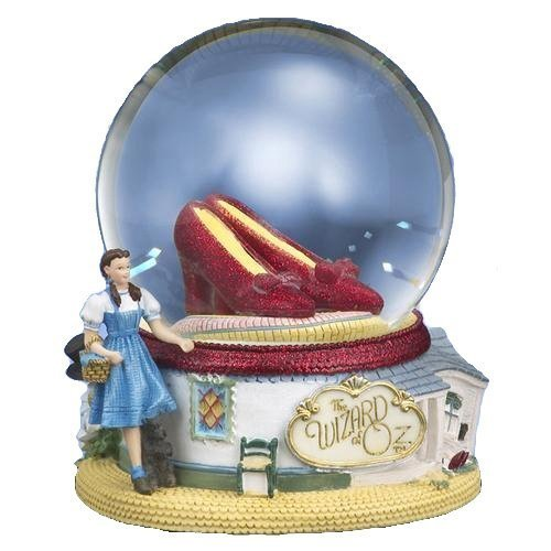 THE SAN FRANCISCO MUSIC BOX COMPANY The Wizard of Oz Ruby Slippers Water Globe by The San Francisco Music Box Company