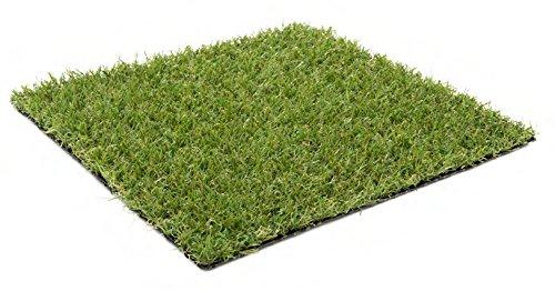Kunstrasen Ibiza   20 mm 1.350 g m²   Rasenteppich   strapazierfähig, langlebig und pflegeleicht   Indoor wie Outdoor   Garten Terrasse Balkon Camping, Farbe Grün, Größe 200 x 500 cm