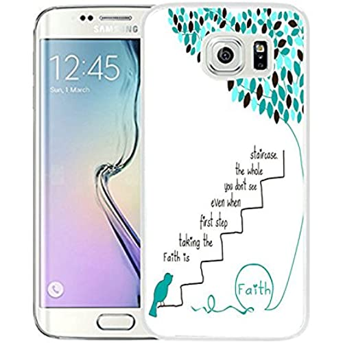 Galaxy S7 Case Samsung Galaxy S7 Case TPU Non-Slip High Definition Printing Quotes Faith Is Taking The First Step Even When You Don'T See The Whole Sales