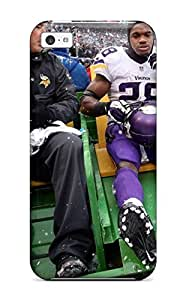Hot Tpu Cover Case For Iphone/ 5c Case Cover Skin - Adrian Peterson Football