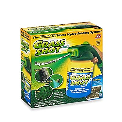 Convenient Soak & Seed Spray System to Spruce Up Your Lawn
