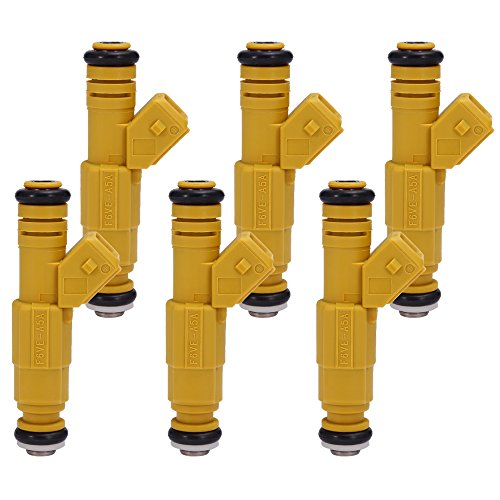 QUIOSS 6 pcs Fuel Injector For JEEP Grand Cherokee Wrangler Comanche 4.0L 0280155700, (Jeep Cherokee Fuel Injection)