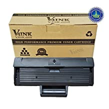 V4INK® Compatible Samsung MLT-D111S Toner Cartridge for Xpress SL-M2020 Xpress SL-M2020W Xpress SL-2070W Xpress SL-2070FW Printers (1 Pack)