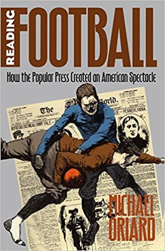 Book Reading Football: How the Popular Press Created an American Spectacle (Cultural Studies of the United States) by Michael Oriard (1993-01-01)