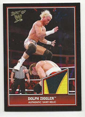 2013 Topps Best of WWE Swatch Relics Shirt Dolph Ziggler #NNO NM Near Mint MEM from Best of WWE Swatch Relics Shirt