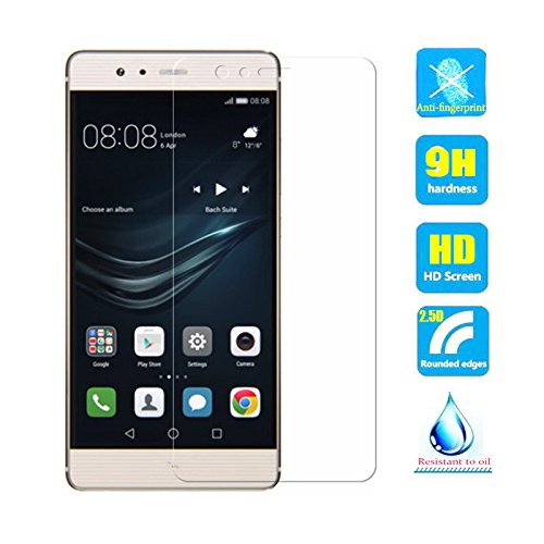 2pcs Clear Tempered Glass Crystal Screen Protector film for Huawei P9 Lite 2016 /G9 VNS-L21 VNS-L22 VNS-L23 VNS-L31 VNS-L53 Scratch Resist 9H Hardness