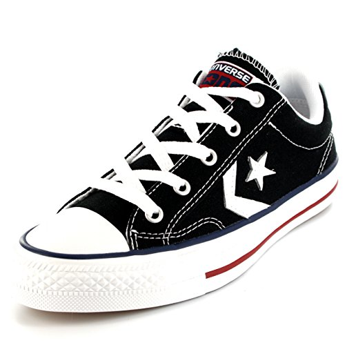 ... Womens Converse Stjernespiller All Star Chuck Taylor Okse Lave Sorte  Joggesko Sort ...
