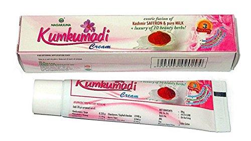 Kumkumadi Cream - Kashmir Saffron and Pure Milk + Luxury of 10 Beauty Herbs
