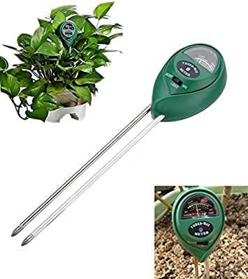 1-Set Peerless Popular 3in1 pH Soil Tester Meter Plant Mudder Test Lawn Garden Check Hydroponics Tools Color Green