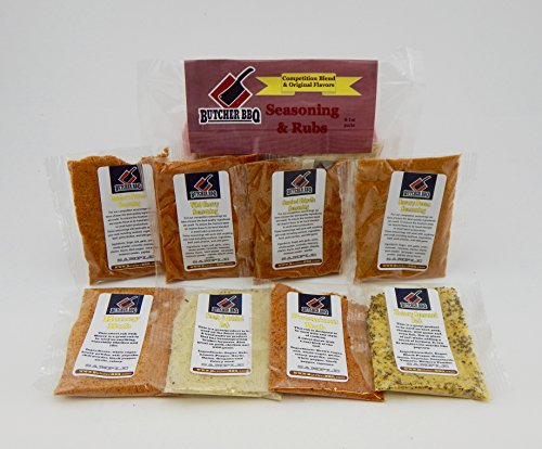 Butcher BBQ Seasoning and Rub Sampler Pack (Pecan Pork Chops)