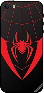 Case For iPhone 5 Spider Red
