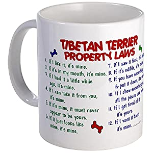 CafePress Tibetan Terrier Property Laws 2 Mug Unique Coffee Mug, Coffee Cup 29