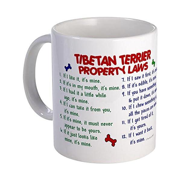 CafePress Tibetan Terrier Property Laws 2 Mug Unique Coffee Mug, Coffee Cup 1