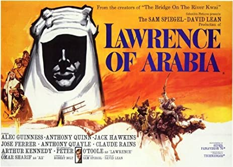 Image result for lawrence of arabia movie poster amazon