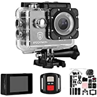 4K Ultra HD WIFI HDMI Action Sports Camera Waterproof With 2-INCH LCD For Racing, Riding, Motorcycle, Motocross and Water Sports.