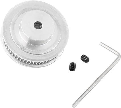 Polea de la Correa de Sincronización GT2 de Aluminio + Llave 1pc + ...