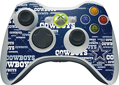 NFL Dallas Cowboys Xbox 360 Wireless Controller Skin - Dallas Cowboys Blast Vinyl Decal Skin For Your Xbox 360 Wireless Controller