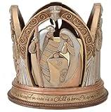 Enesco Legacy of Love Nativity-LED Centerpiece, 5.375-Inch