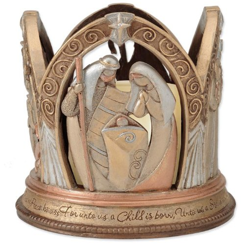 Enesco Legacy of Love Nativity-LED Centerpiece, 5.375-Inch by Enesco (Image #5)