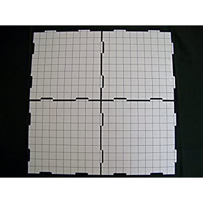 Role 4 Initiative Dry Erase 10 inch Dungeon Tiles - Pack of 9: Toys & Games