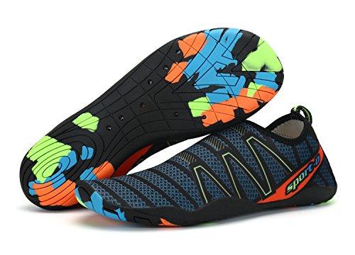 Surf Aqua Yoga KOUDYEN Shoes Piscina Shoes Swim Barefoot Mujeres Calcetines Correr Beach hombres Water de piel verde para A6qw1x6U