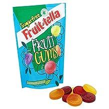 Fruit-Tella Sugar Free Fruit Gums 90g