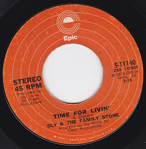 45vinylrecord Time For Livin/Small Talk (7