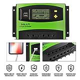 MoimTech Solar Charge Controller, Solar Panel Battery...