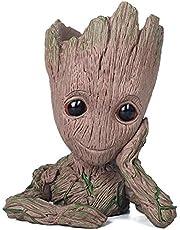 thematys Baby Groot Vaso di Fiori - Action Figure per Piante e Penne del Film Classico - Perfetto Come Regalo - Sono Groot (A)
