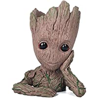 thematys® Baby Groot Maceta - Figura de acción para Plantas y bolígrafos de la película clásica - Perfecto como Regalo…