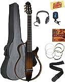 Yamaha SLG200N Nylon String Silent Guitar - Tobacco Sunburst...