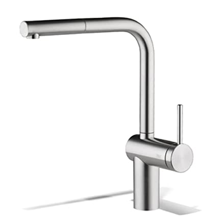 KWC Lever mixer pull-out spout LIVELLO, Touch On Kitchen Sink ...