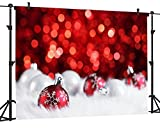 Ouyida Christmas theme SEAMLESS 9' x 6' CP Pictorial cloth Photography Background Computer-Printed Vinyl Backdrop GA26