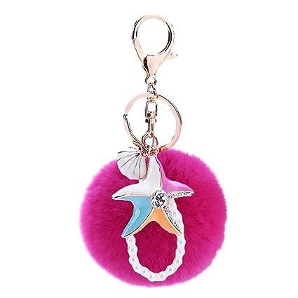 ISAAC ENGLAND Creativo Colorido Estrella de Mar Bola de Pelo ...