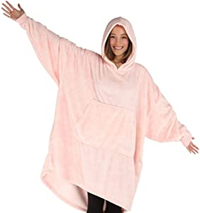 THE COMFY | Oversized Lite Microfiber Wearable Blanket, One Size Fits All, Shark Tank