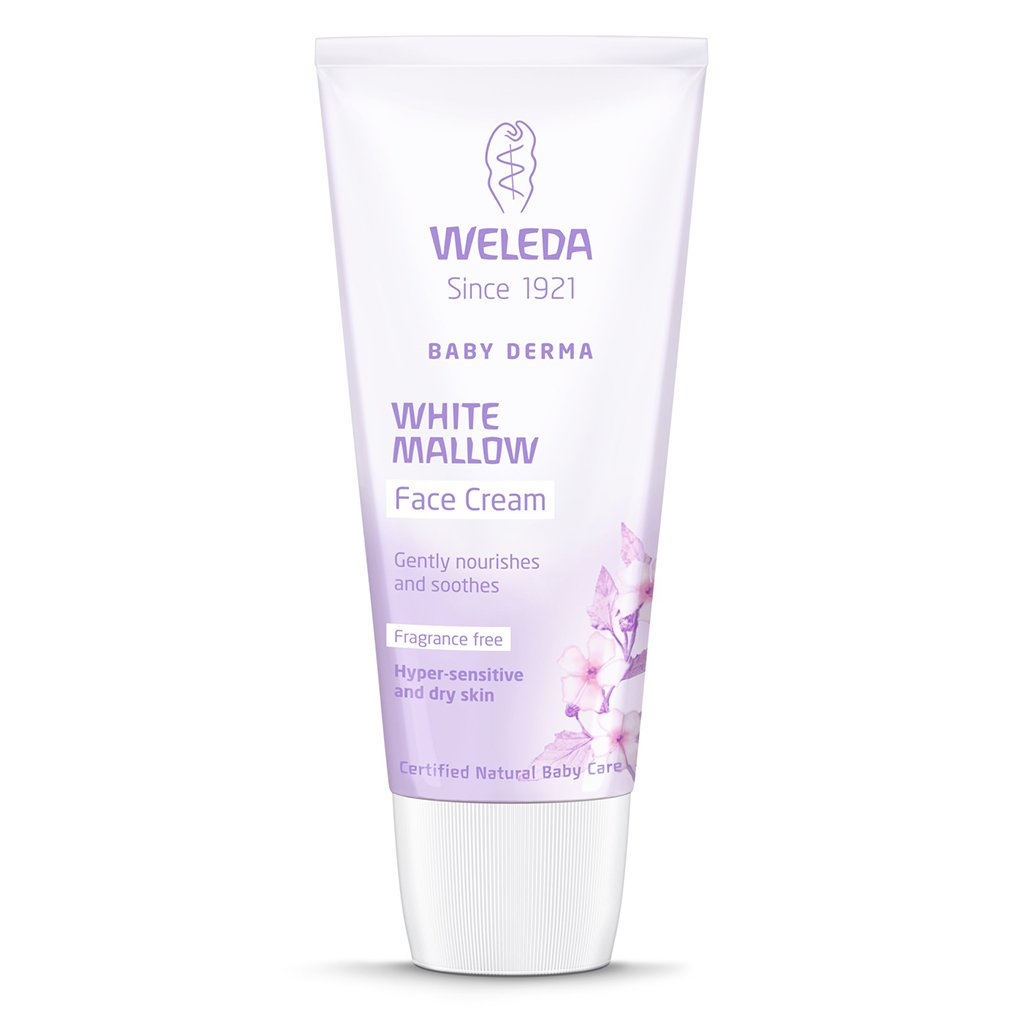 Weleda Baby Derma Face Cream, White Mallow 1.7 Oz (Pack of 2) by Weleda