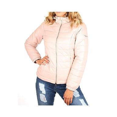 0b0cca7951d Doudoune Alania Rose Femme Pepe Jeans  Amazon.fr  Vêtements et ...