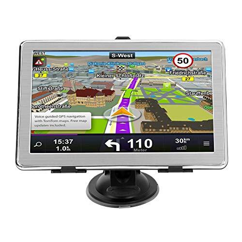 MP5 Player, LiChiLan X8 7 Inch Ultra Thin Car GPS Navigation 8GB GPS Navigator (North America)