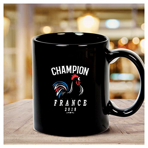 - World Cup Champions France Soccer Football Russia 2018 Allez Les Bleus Mug