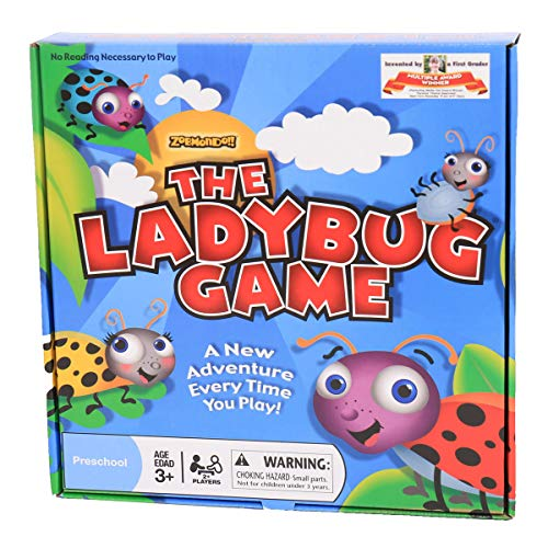 Zobmondo!! The Ladybug Game | Great First Board Game for Boys and Girls | Educational Game | Award -