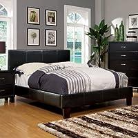 247SHOPATHOME Idf-7008CK Platform-Beds, California King, Espresso